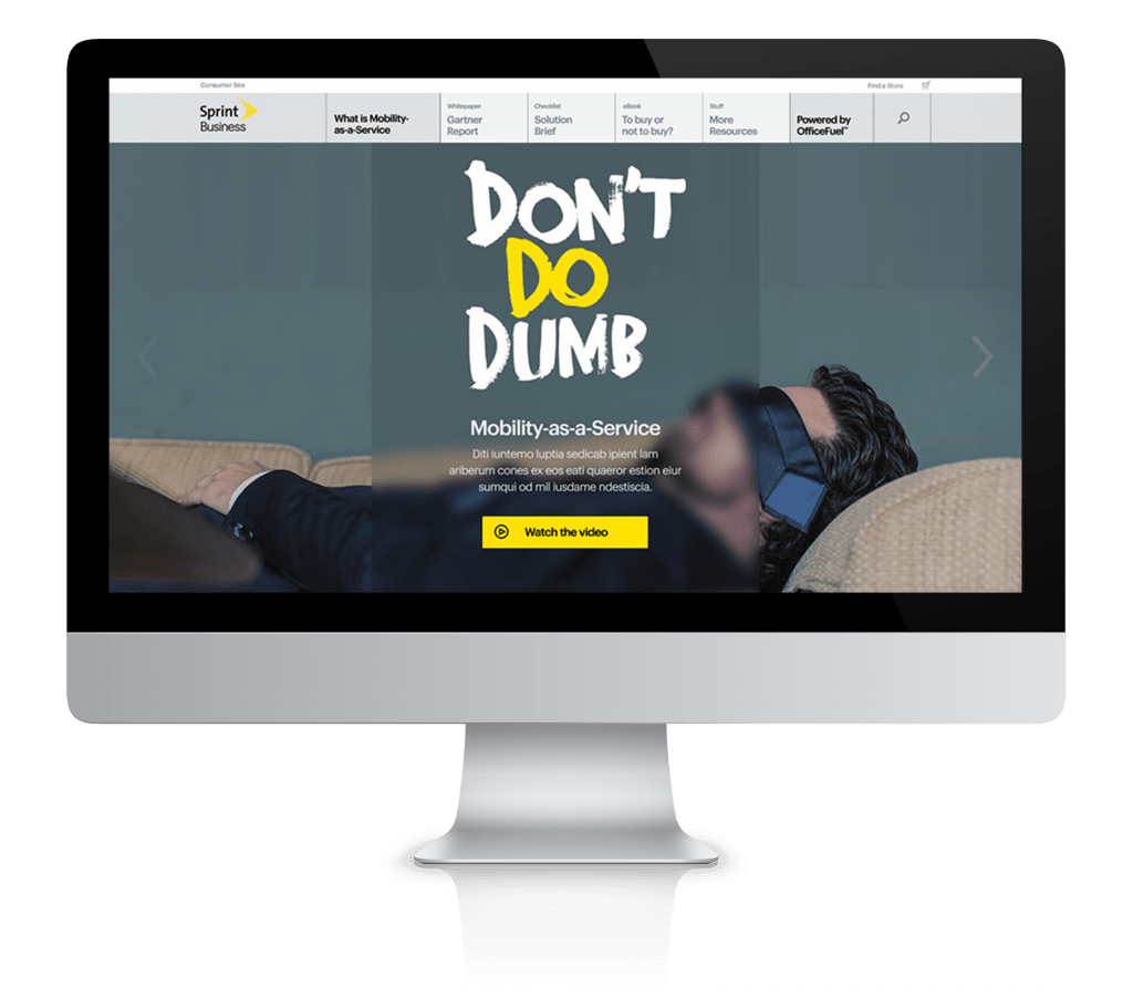 Sprint Content Hub
