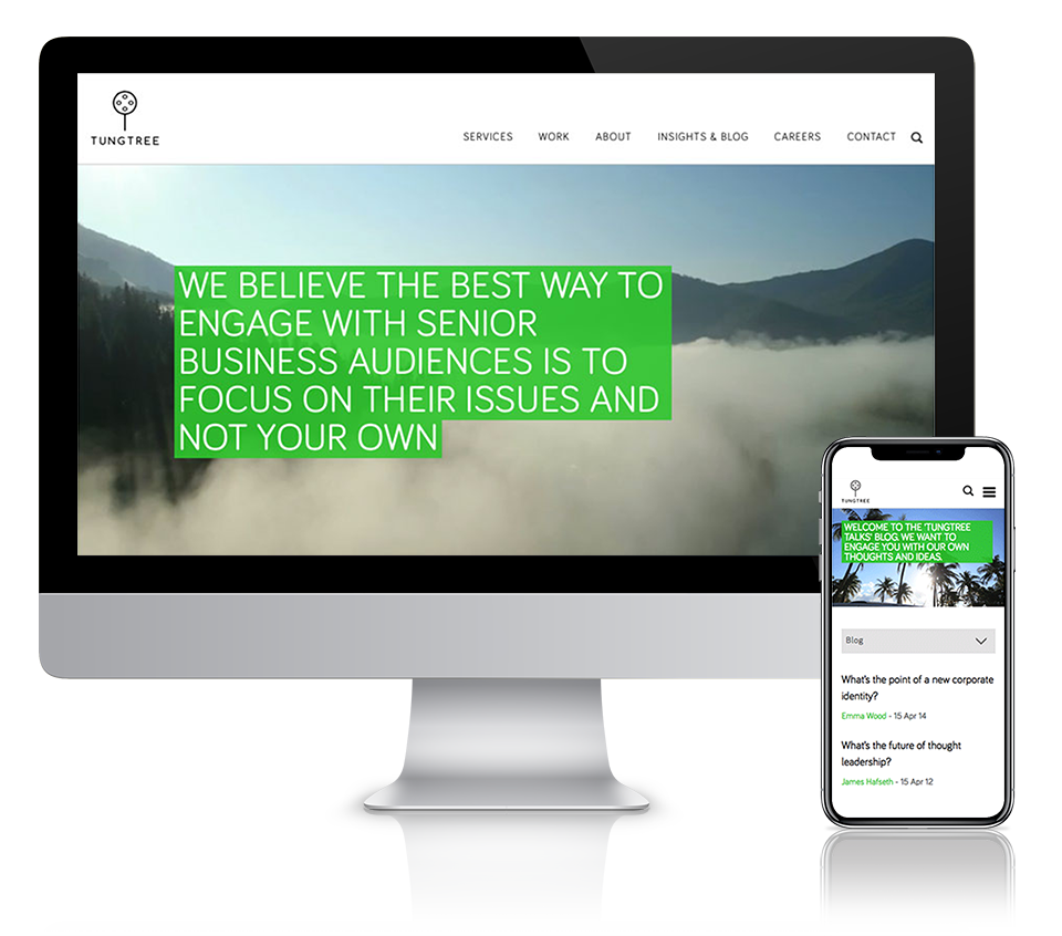Tungtree Website