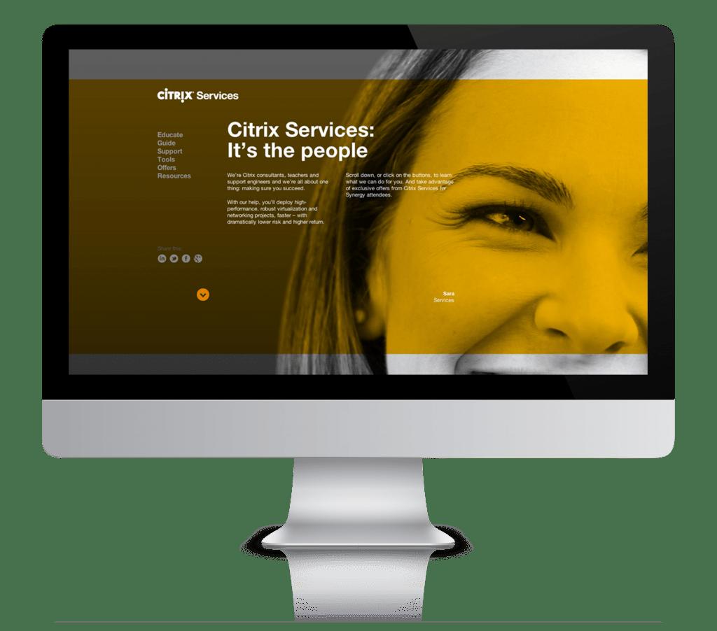 Citrix Synergy Microsite 2012