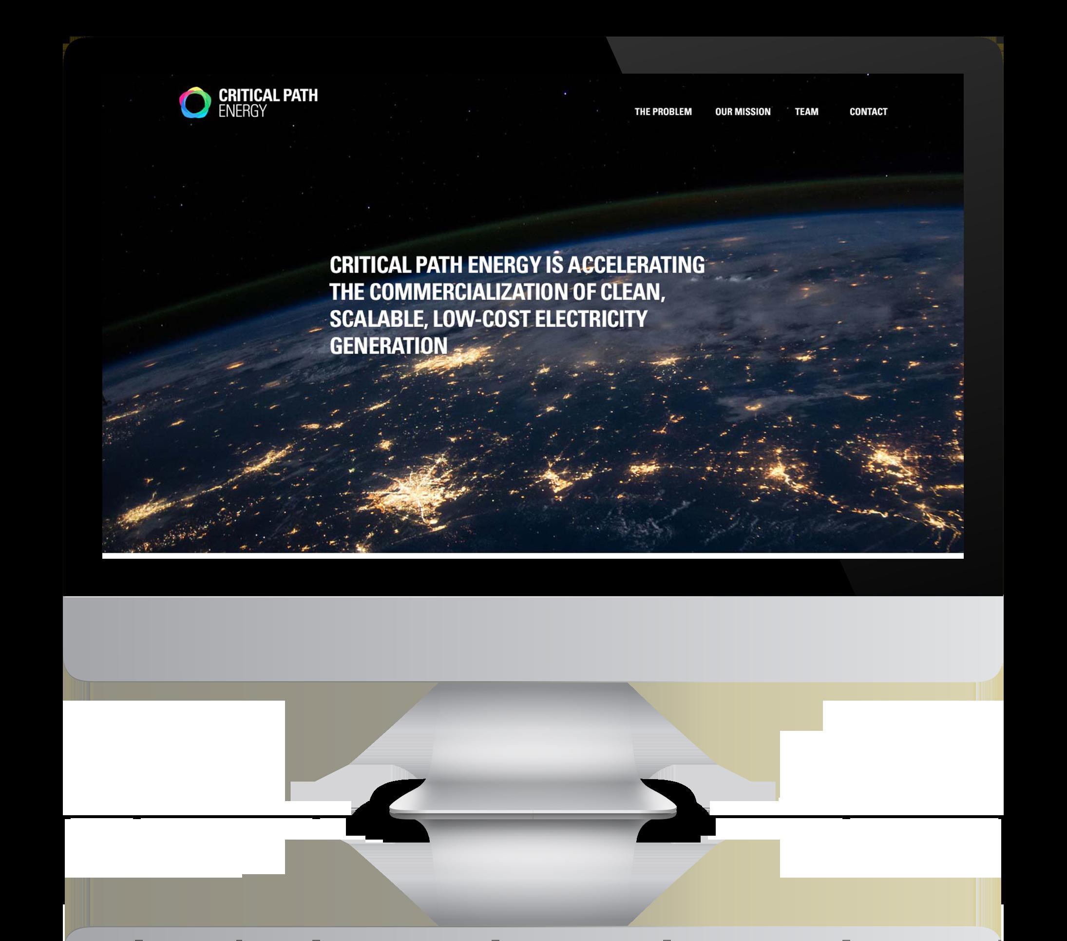 Critical Path Energy –Website