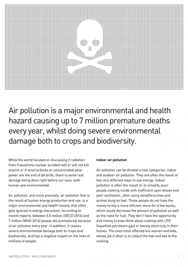 EFH Air Pollution Briefing