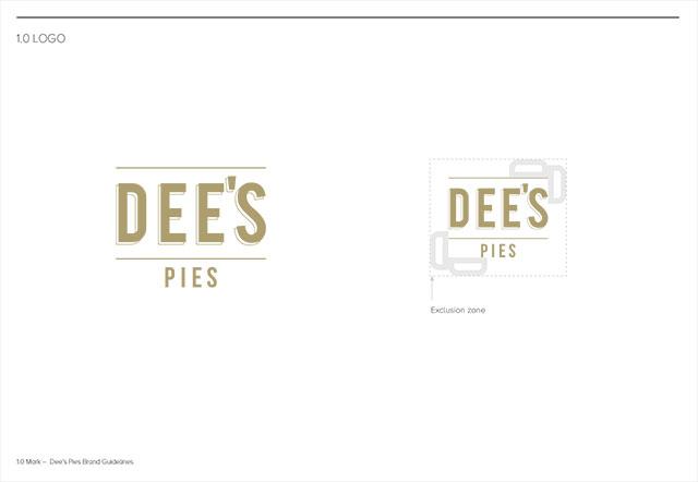 Dee's Pies Branding Guidelines – Logo