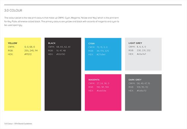 EFH Branding – Colour