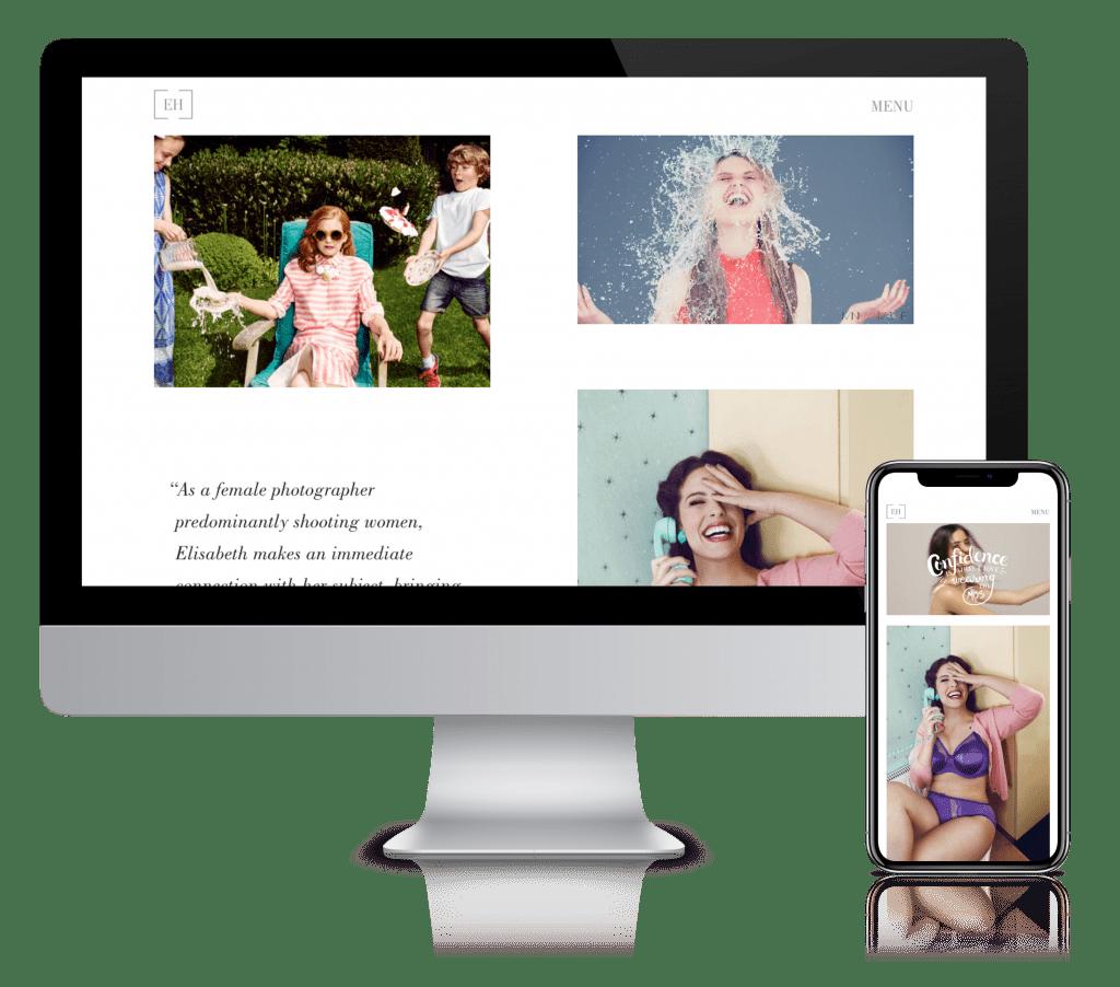 Elisabeth Hoff Desktop & Mobile