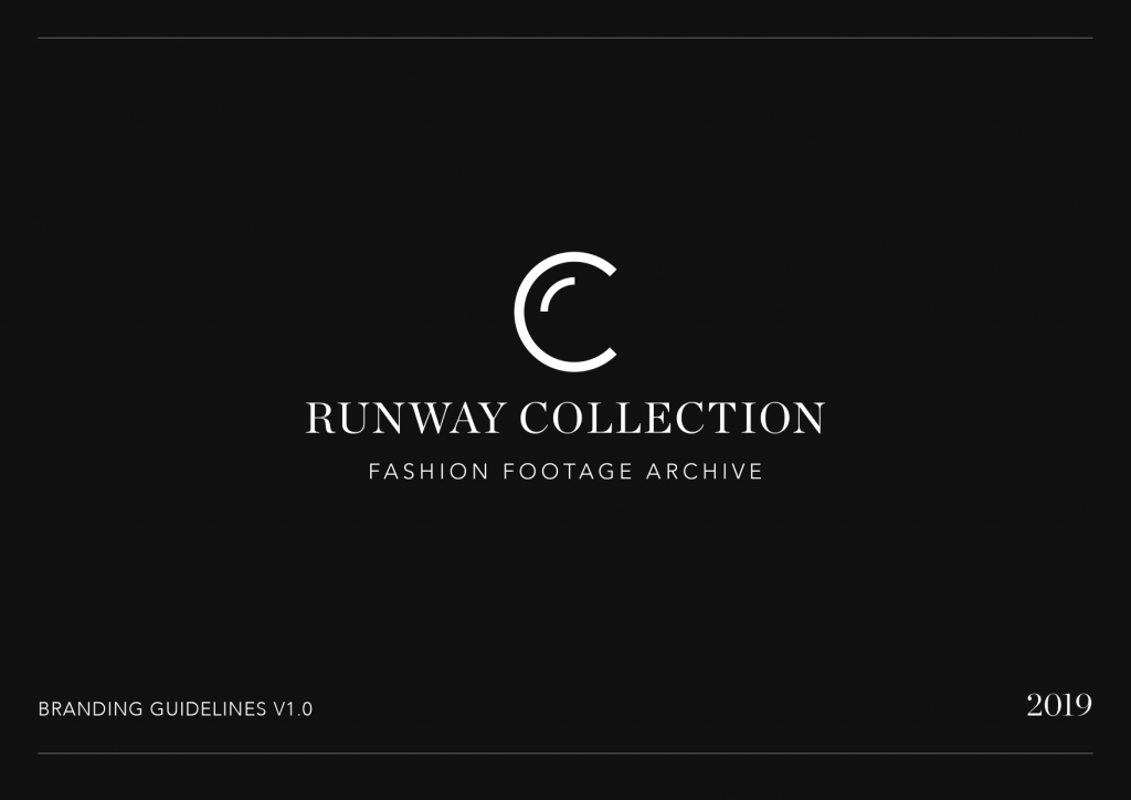 Runway Collection branding cover