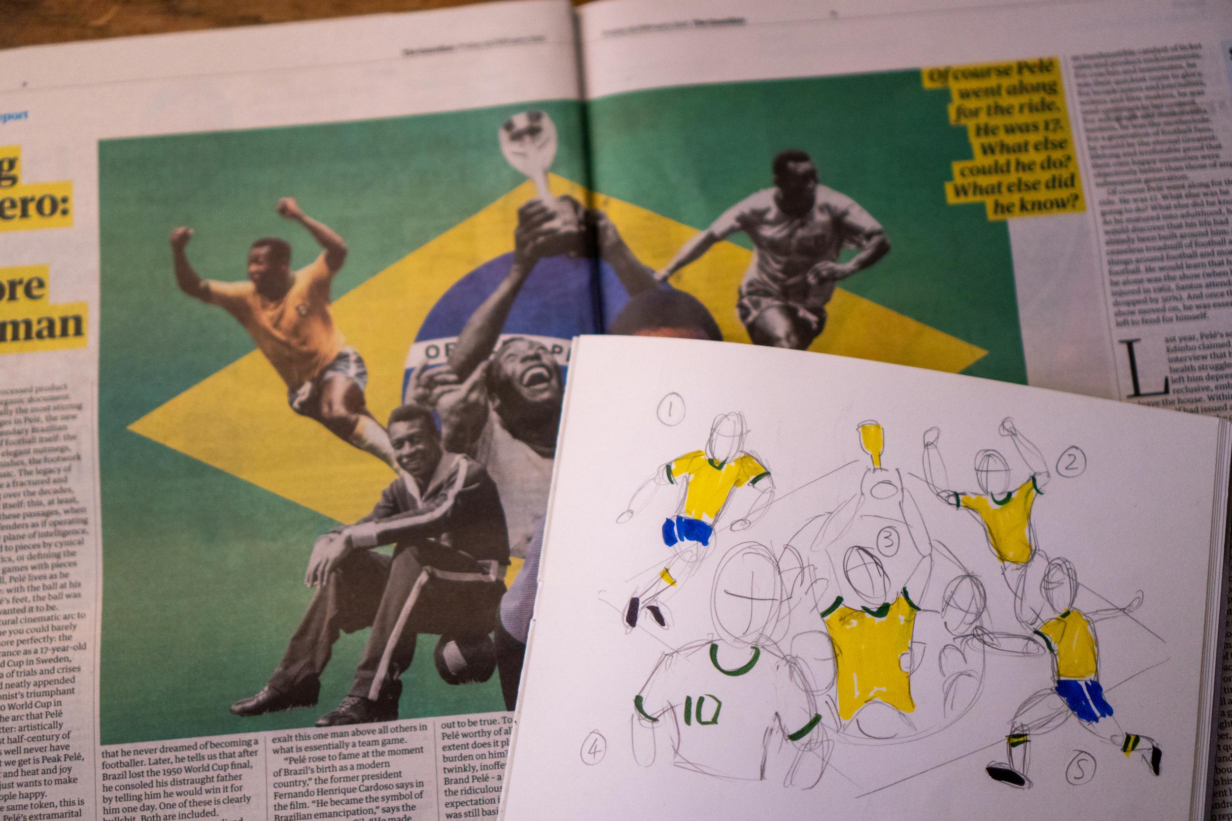 The Guardian Pele composite image